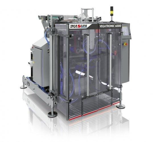 Ima Ilapak Vegatronic 6000 vertical form fill seal bagger packaging machine