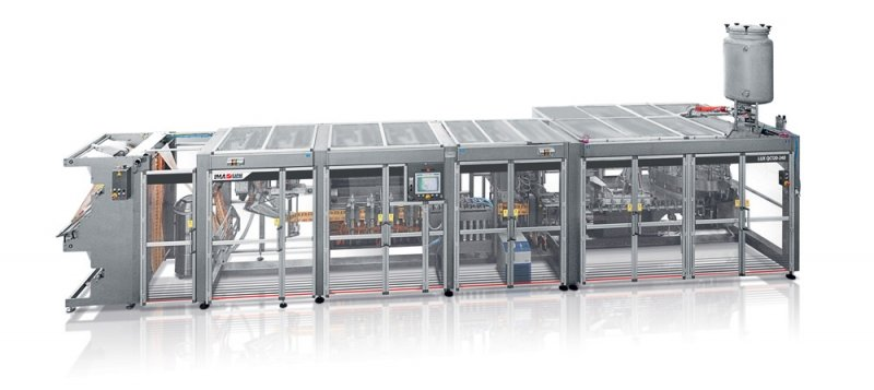 IMA Ilapak Lux QC 120 240 16 packaging solution for liquid products in doy pouch
